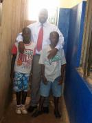 Ivan and Kennedy with John Mugabi--2007
