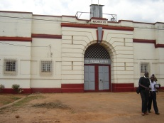 The largest prison in Uganda