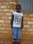 Brian Atwifuka, age 8