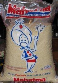 20 pound bag of rice- $8