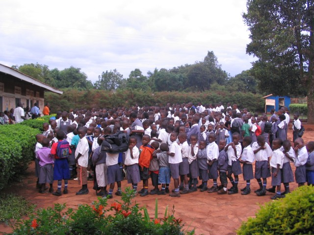 Primary school beyond capacity!