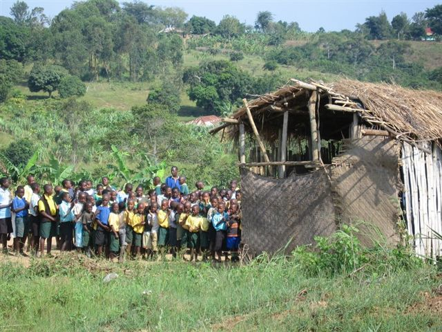 The school in Masaka--where Ivan lives