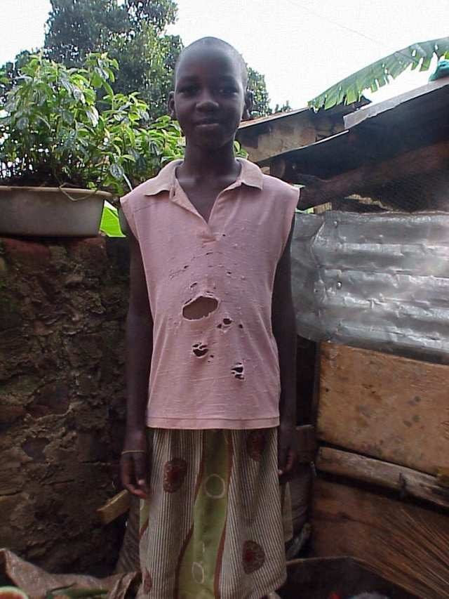 Carol, an orphan sponsored in 2007