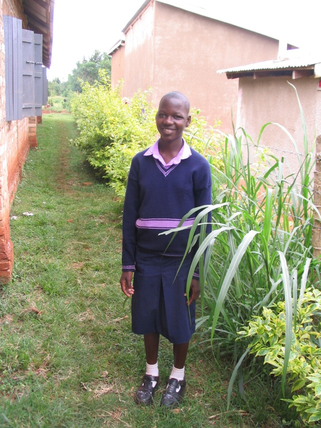 Carol- April of 2009--recently shared with Esther her desire to become a nurse.  She is growing in maturity and in her walk with the Lord.