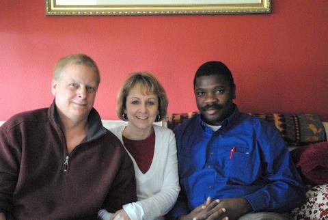 John in Washington with Bill and Jill Perkins