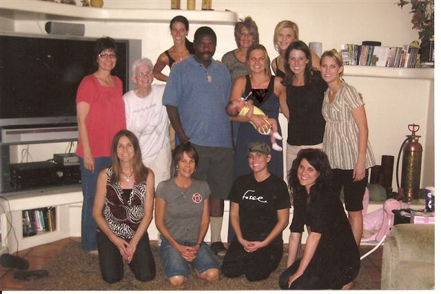 John at Becki Brueggeman's Bible Study (Phoenix Hostess)