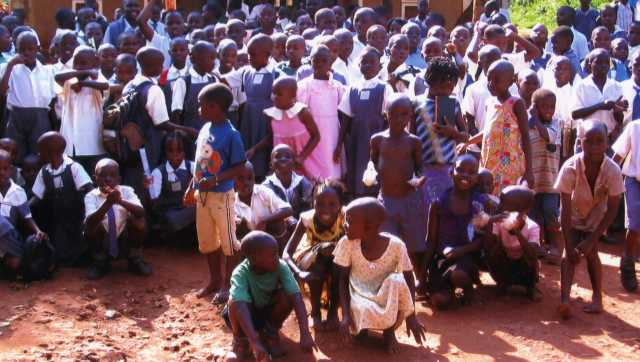 Nkumba Christian children