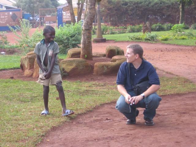 Frank at Nkumba