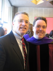 Rob with Gary Haugen, President of IJM