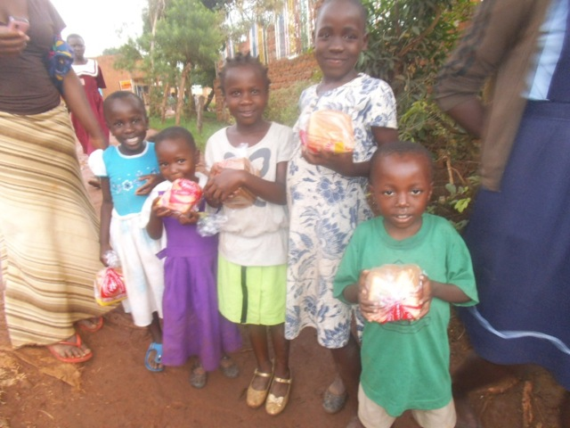 Children with their bread